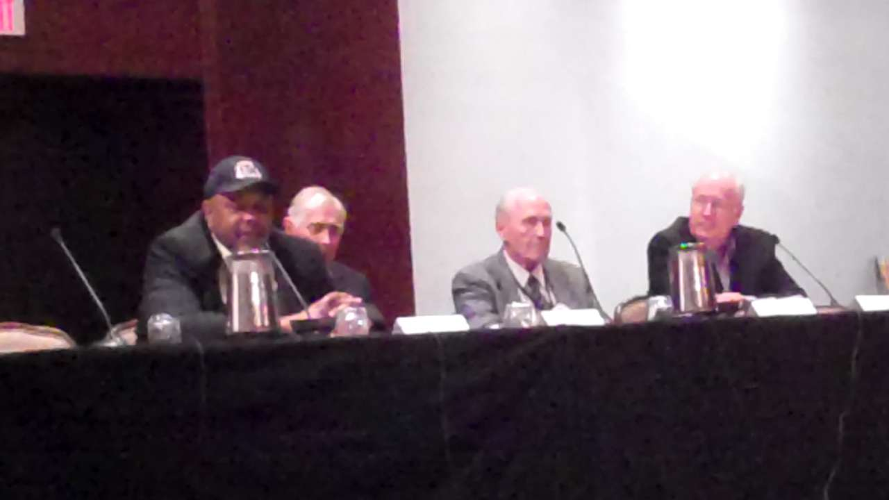 Brown reflects on his career at SABR panel