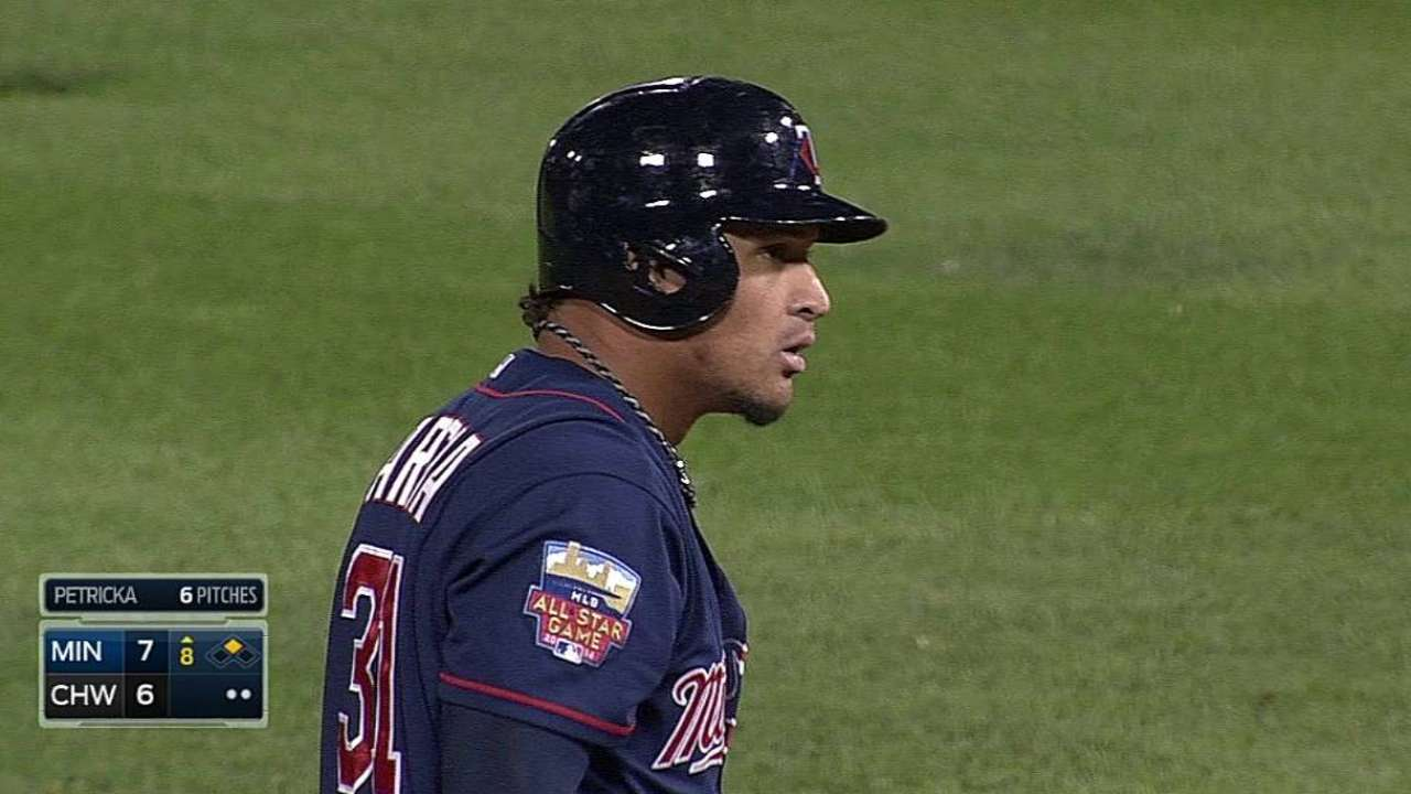 Gardy wants to see Arcia improve vs. southpaws