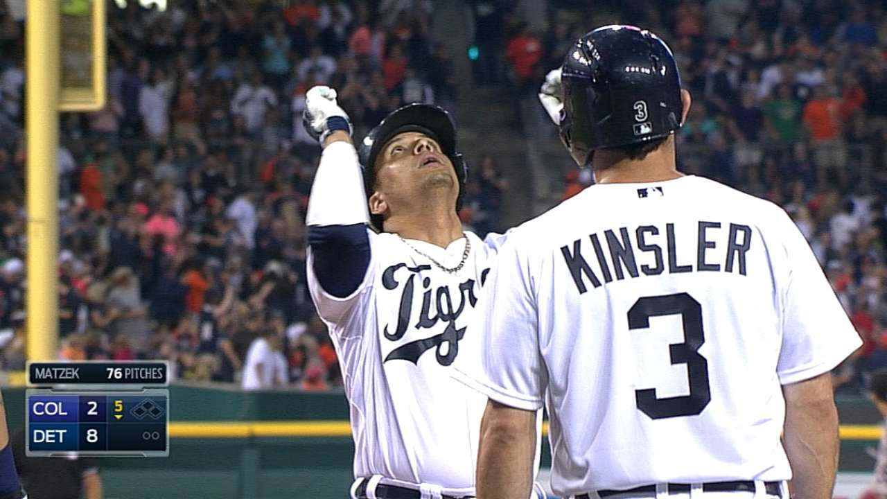 Tigers are first team since '06 to score every inning