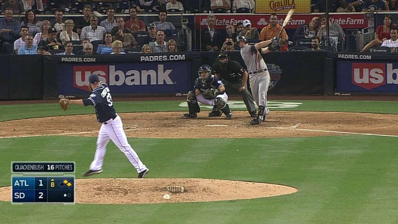 Chances slip late as Braves fall in 12th inning