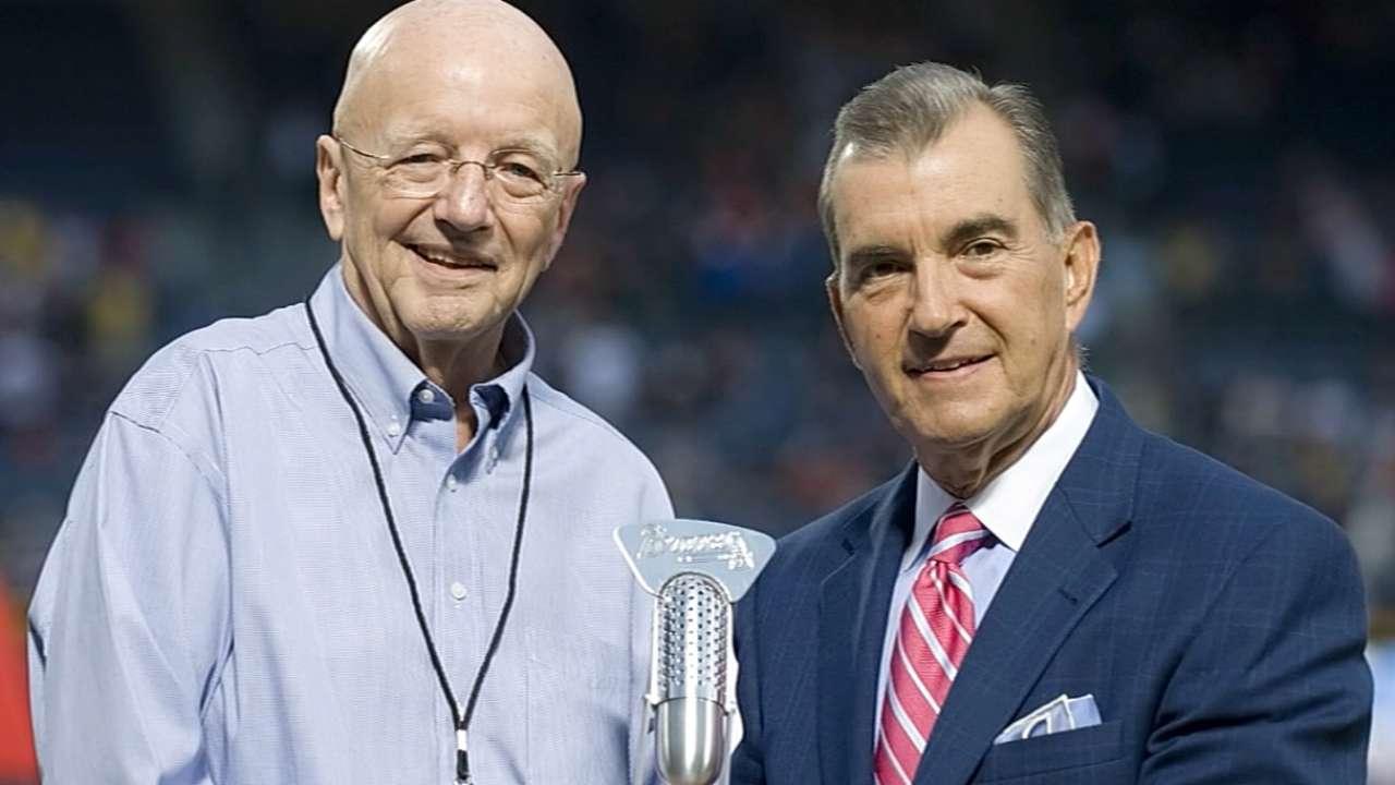 Van Wieren, longtime Braves broadcaster, dies