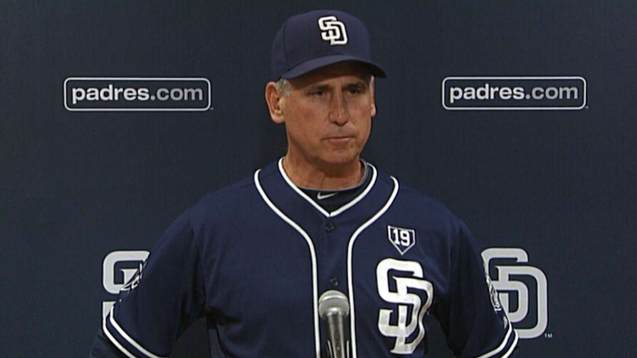Black, Padres mulling upcoming rotation order