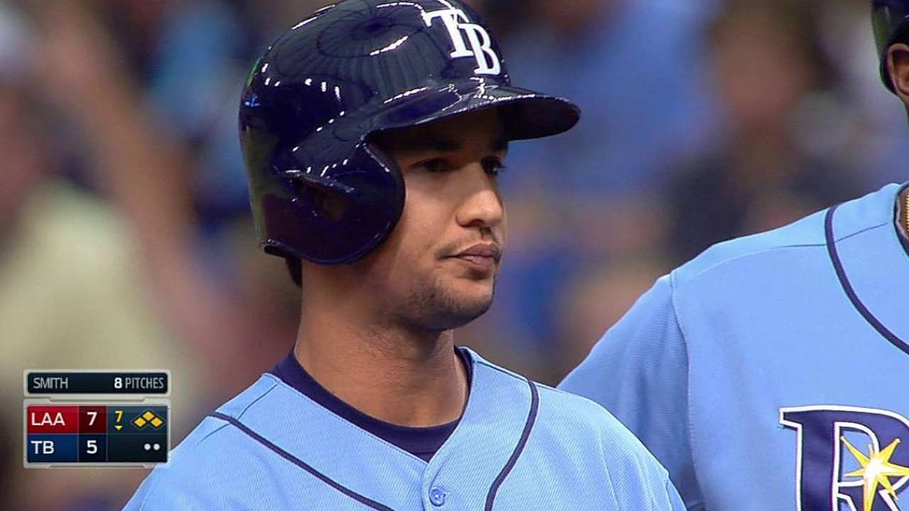 Odorizzi roughed up as Rays drop rubber game
