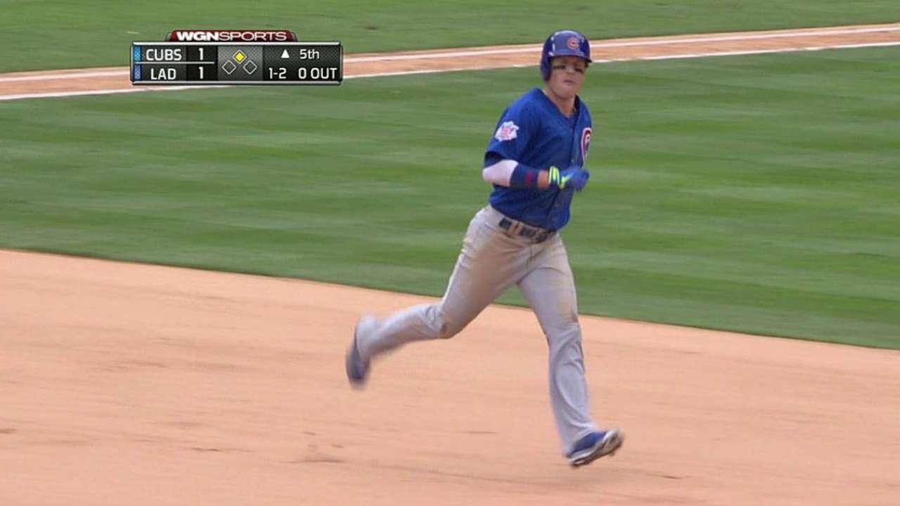 Cachorros lograron arrancarle la serie a Dodgers