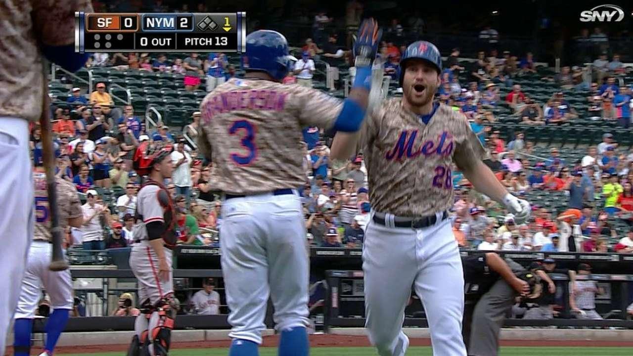 Mets dejan escapar ventaja y caen ante Gigantes