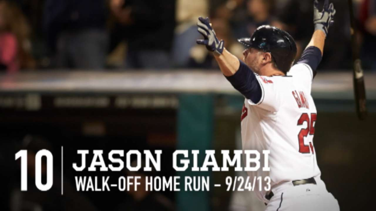 GM: Giambi unlikely to return to Tribe in '15
