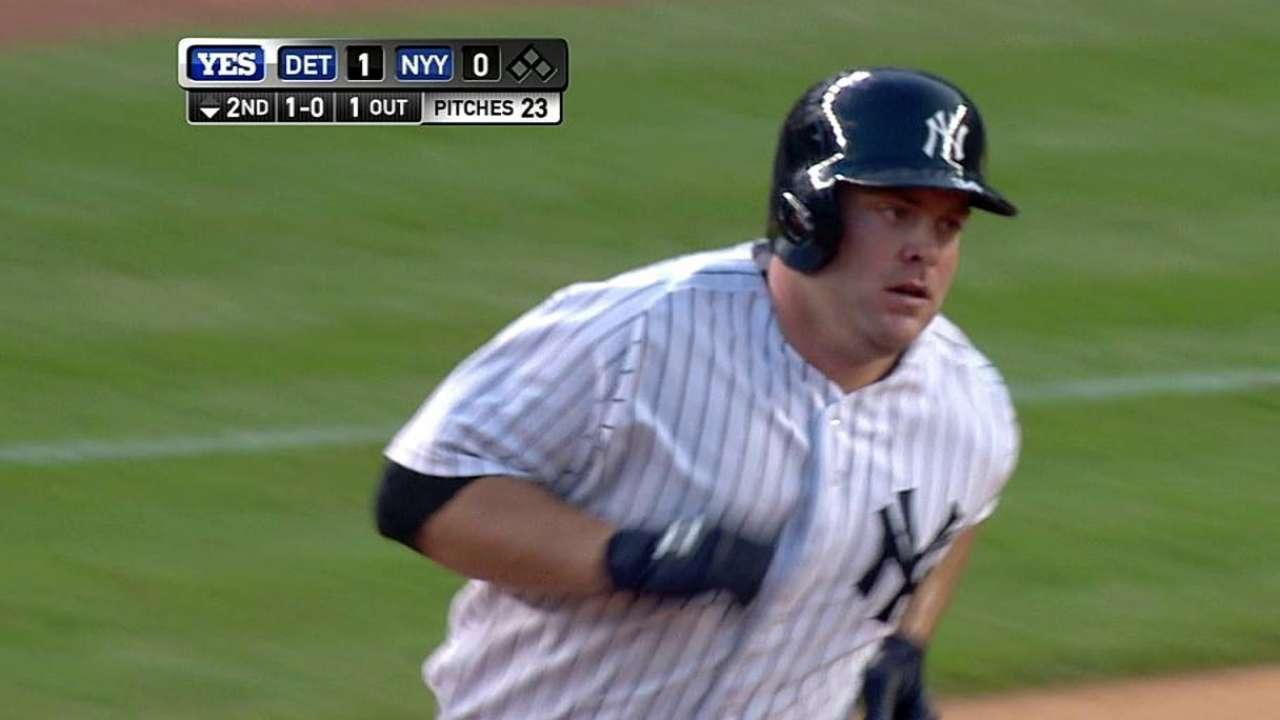 Yankees caen ante los Tigres en 12 entradas