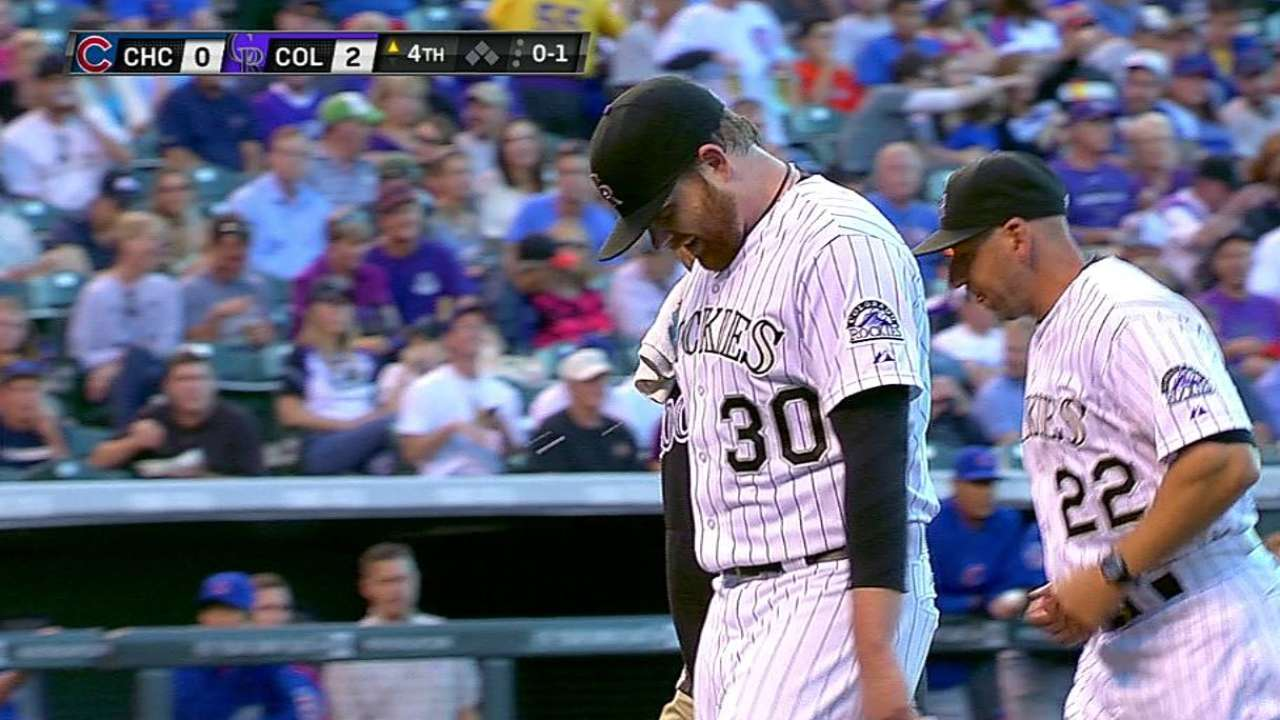 Rox lefty Anderson awaiting MRI results on back