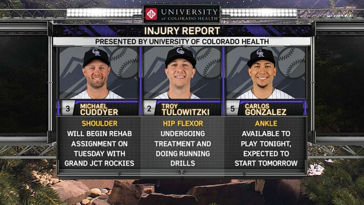 Rockies send Tulo back to Denver for more opinions