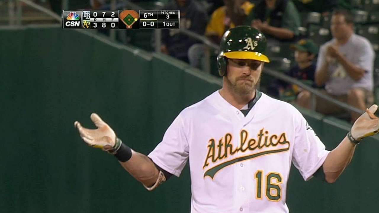 Reddick slotted in two-hole with Jaso struggling
