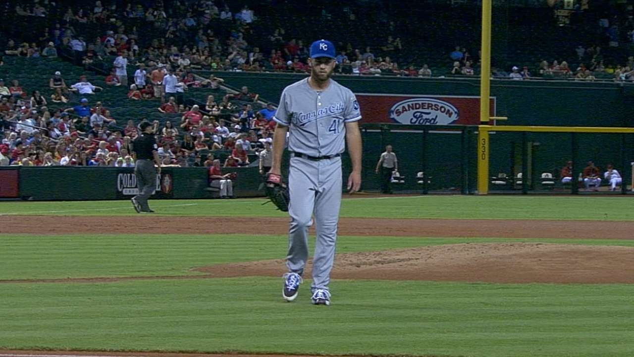 With big lead, Royals play it safe with Duffy