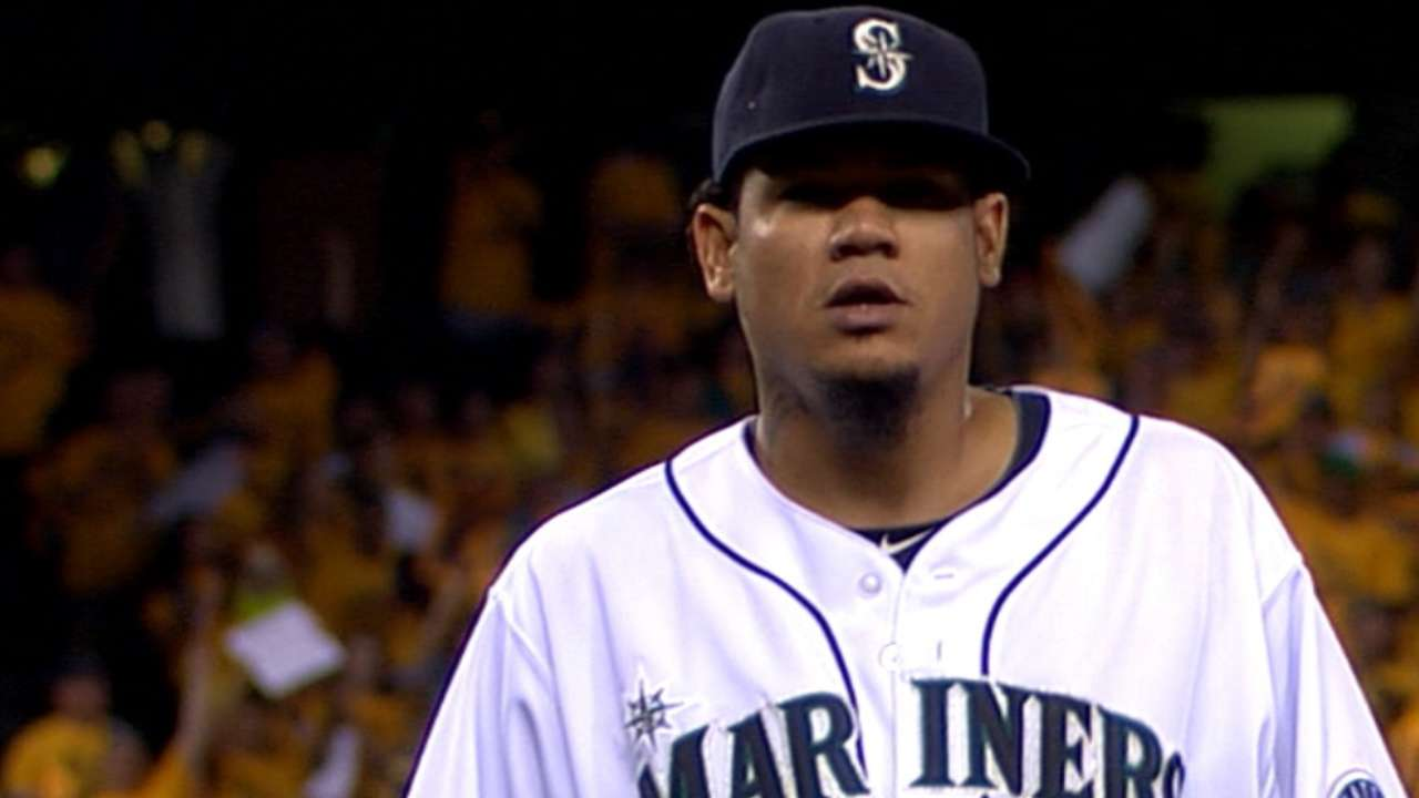 MLB Notebook: It's prime time for Felix, Cueto