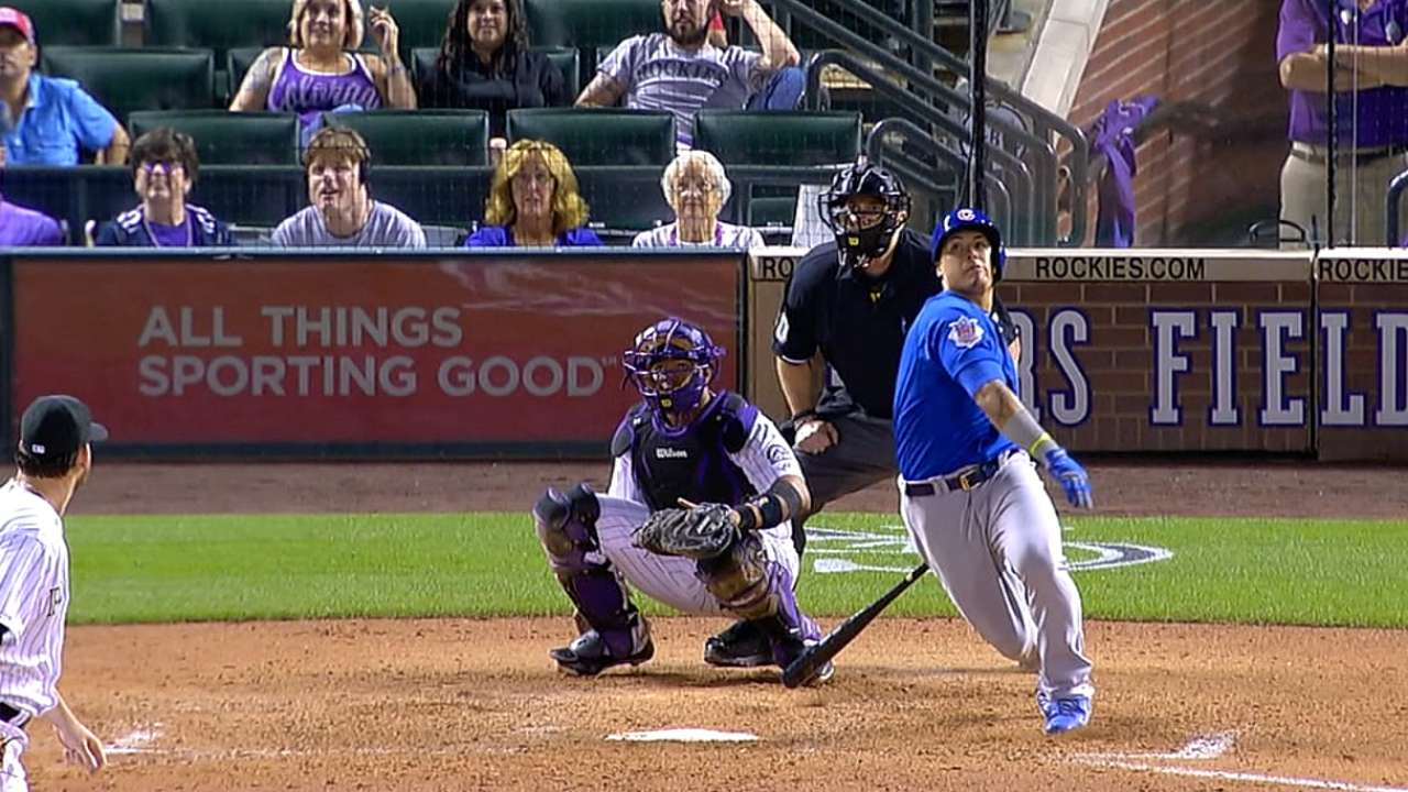 Baez eager to play in front of Chicago fans