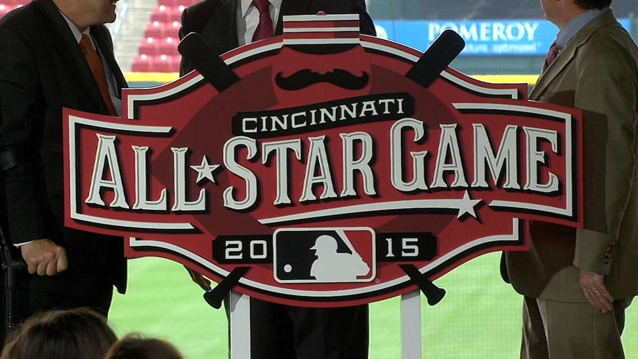 Reds pay homage to past with 2015 All-Star logo