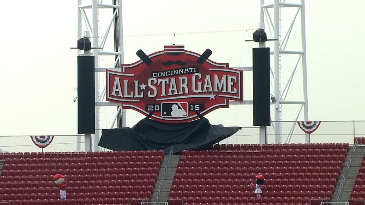 Pregame ceremony held for 2015 ASG logo