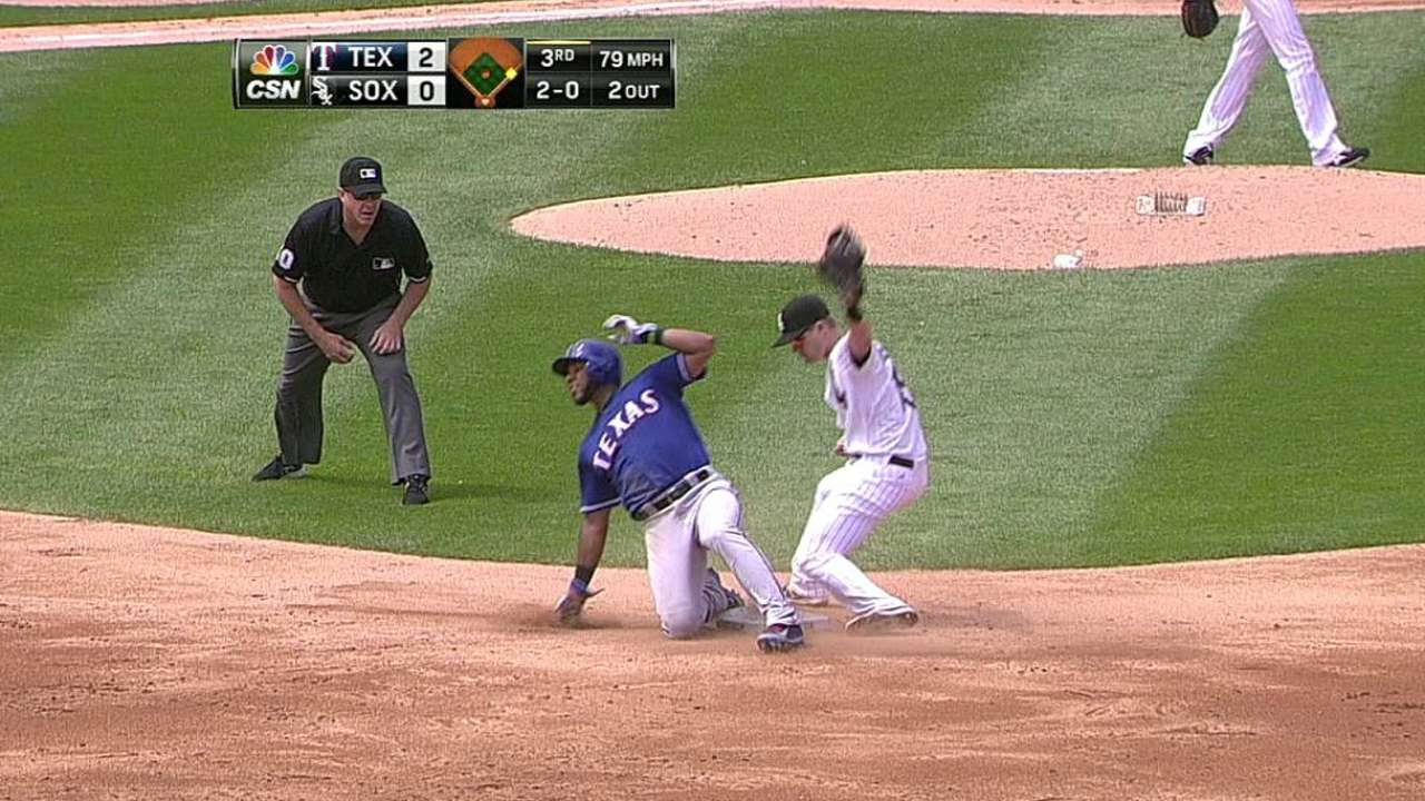Sale luce bien pero Medias Blancas caen vs. Rangers