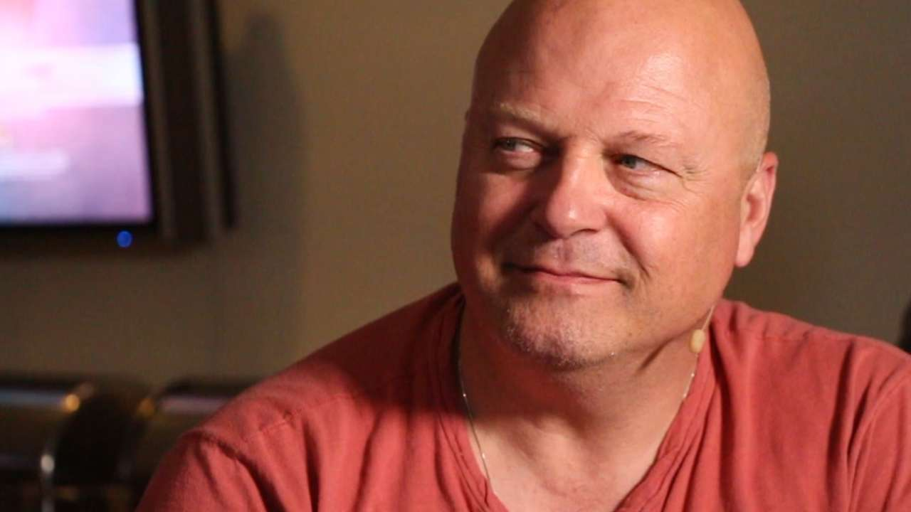 Accomplished Chiklis holds baseball close