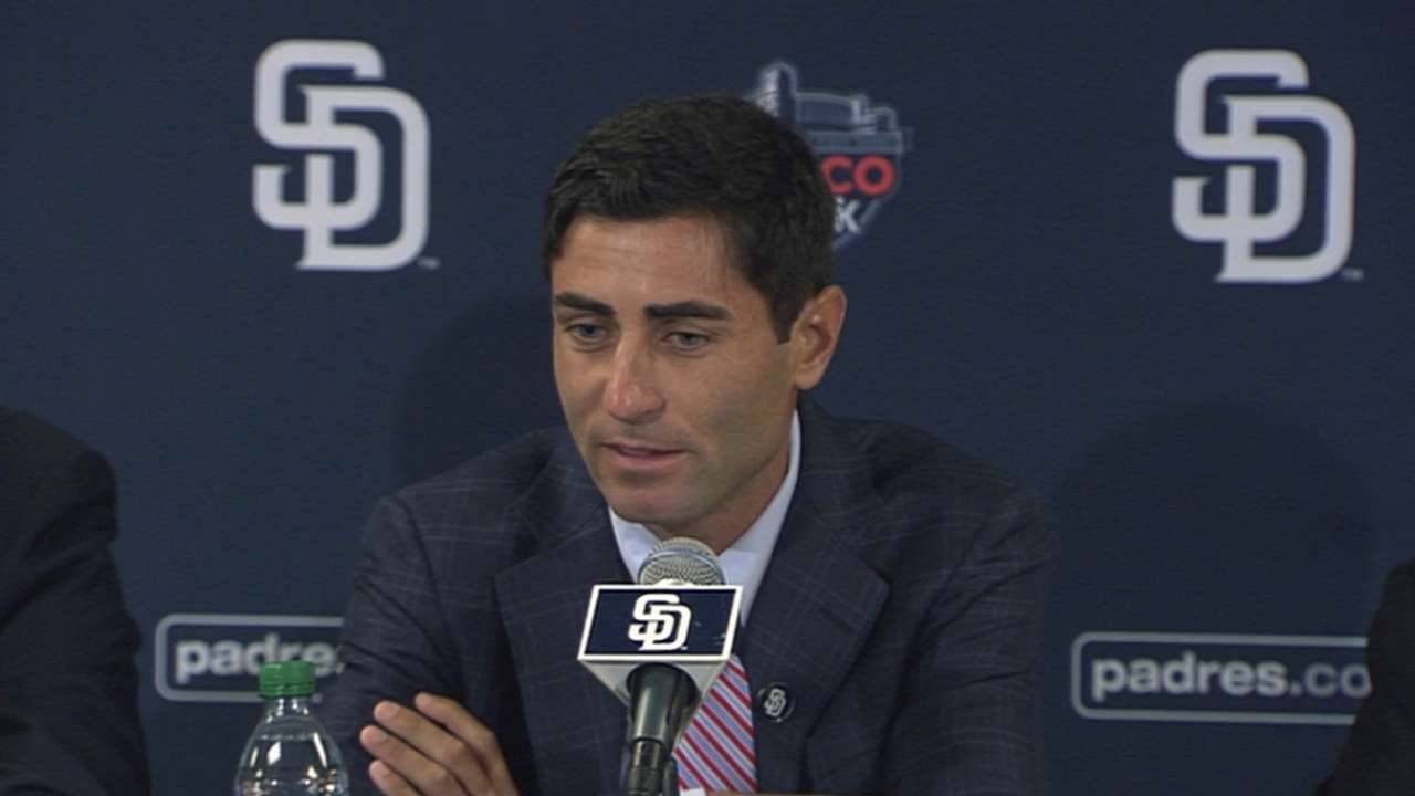 With new GM, Padres may be in for many changes in '15