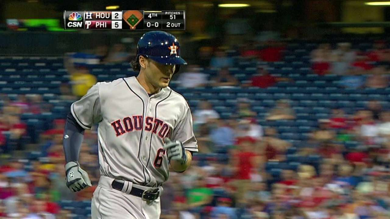Five-run first inning sends Astros to defeat