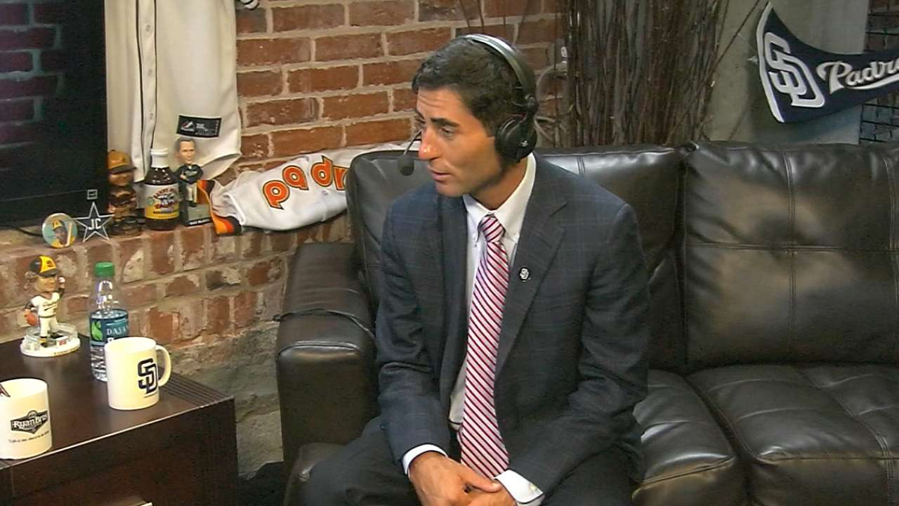 Preller busy getting to know staff, players