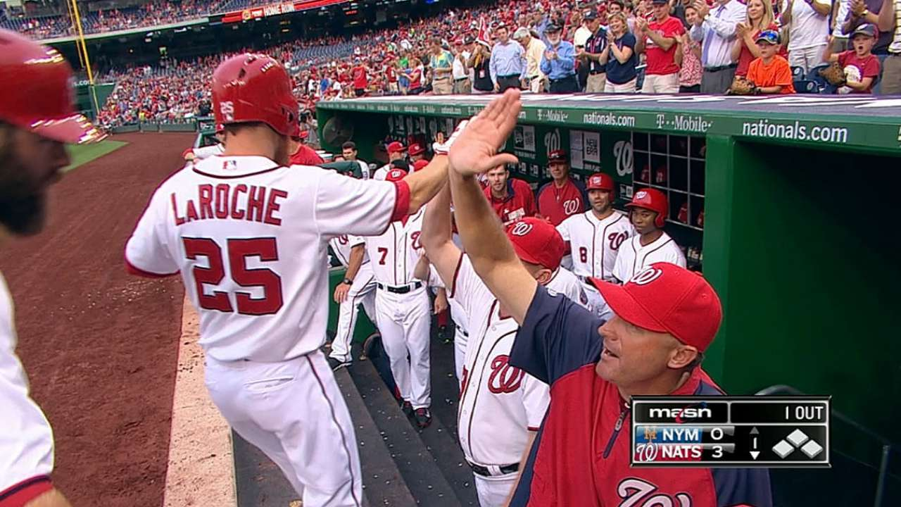 Big night a good sign for LaRoche during hitting woes