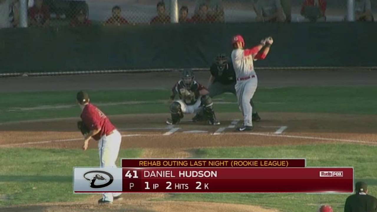 Hudson making progress at Arizona League