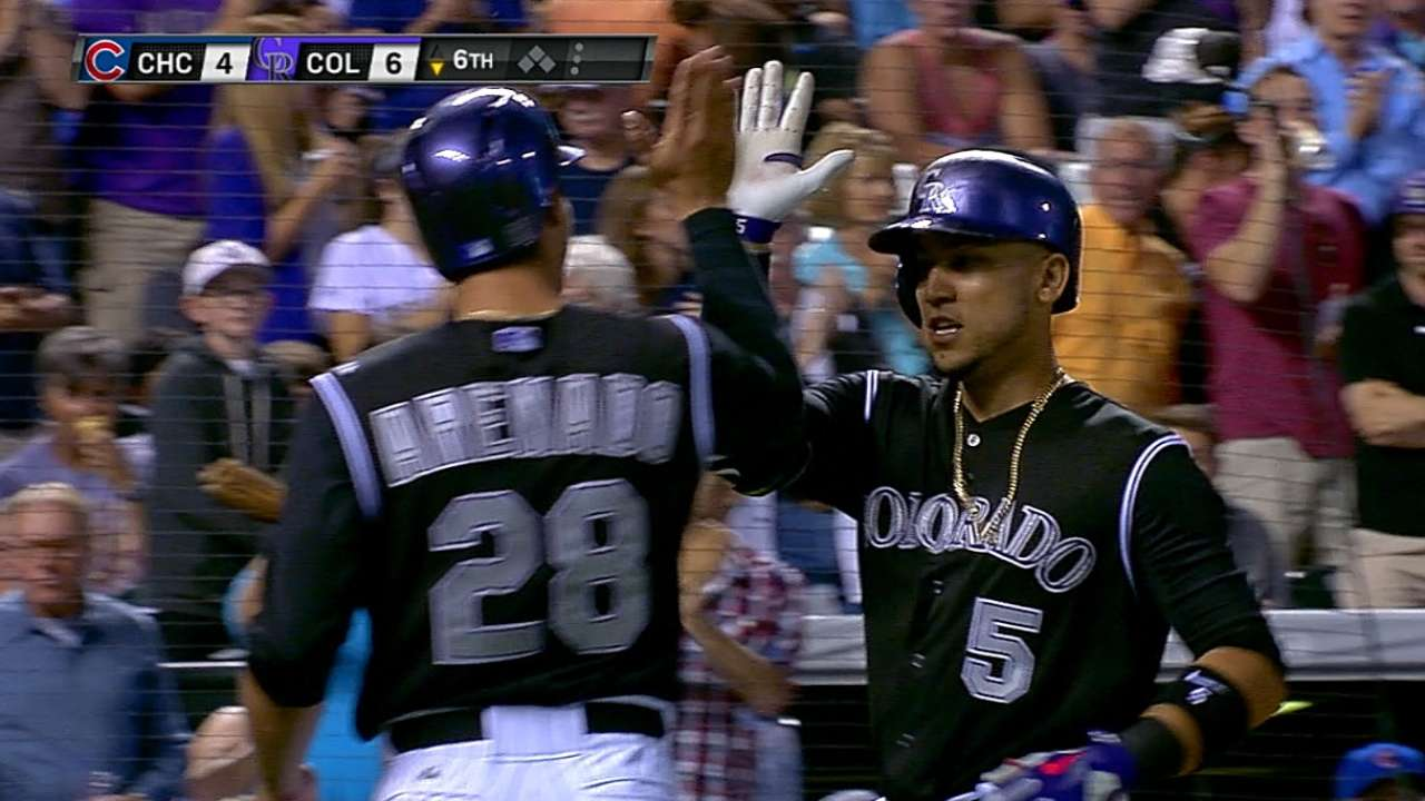Dickerson, CarGo each flirt with cycle in rout