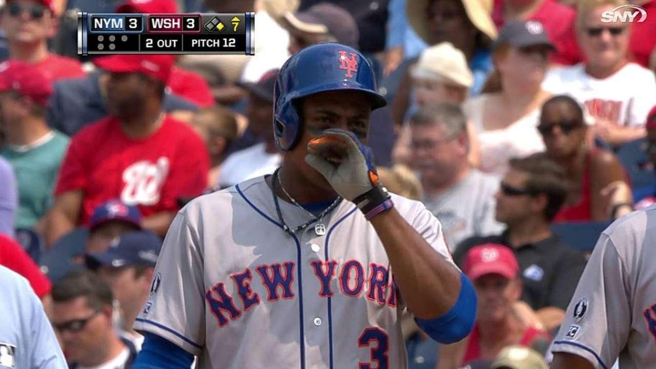 Nacionales vencen a Mets con HR en la 13ra