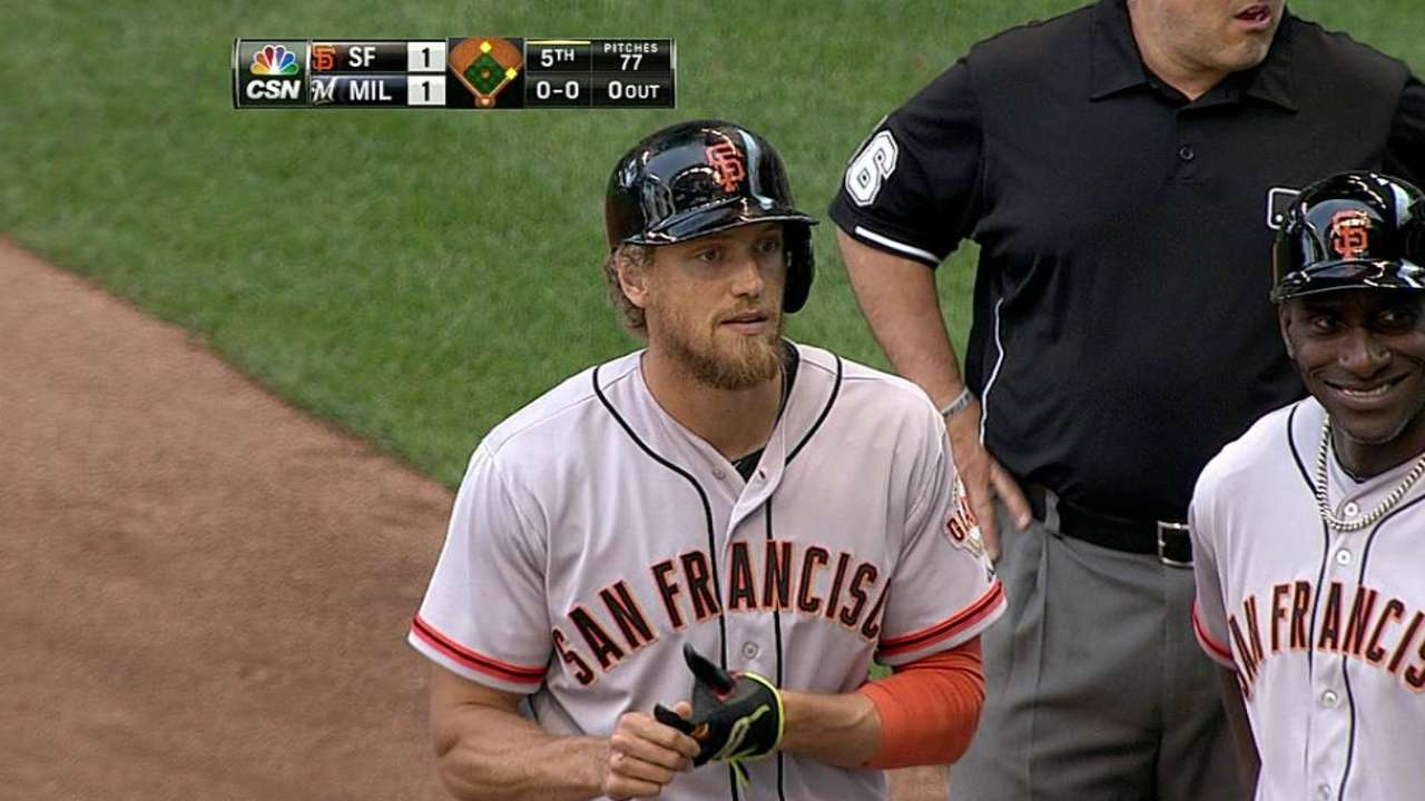 Pagan's solid return not enough to spark Giants