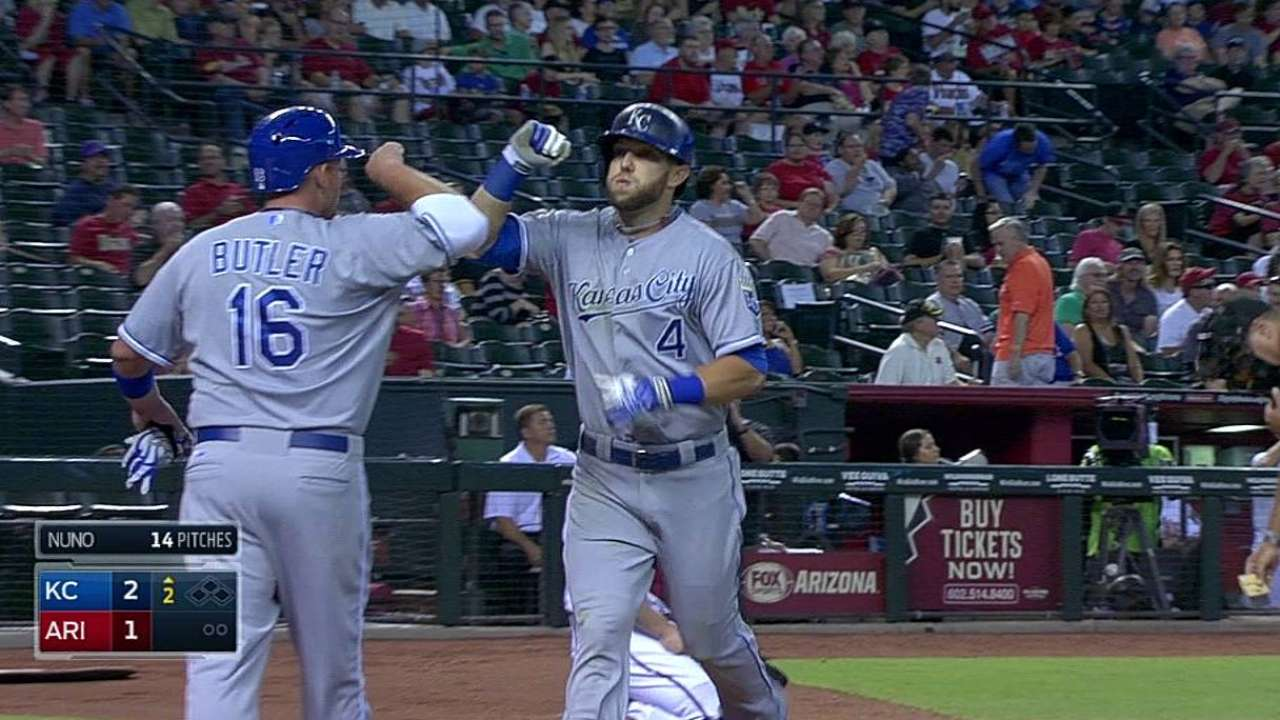 Royals take sweep to keep up standings ascent