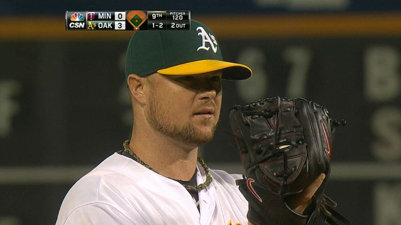 Lester dominates, takes perfect game into sixth