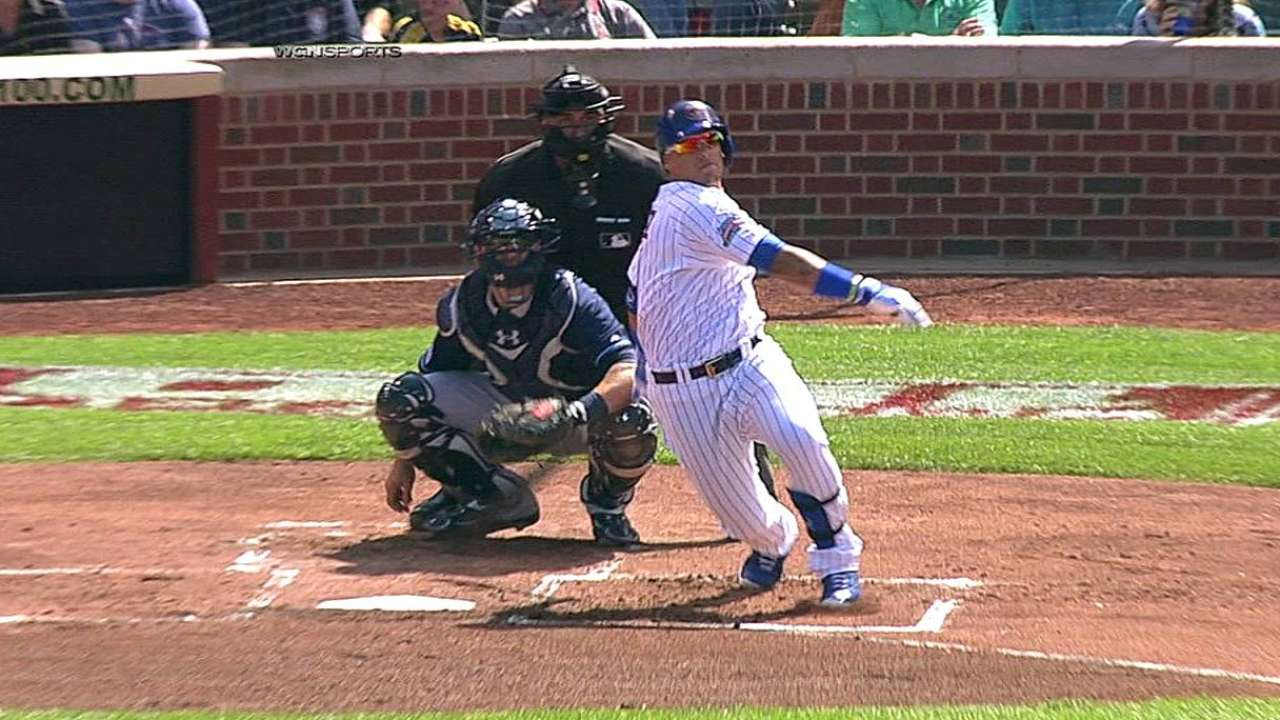 Renteria: Hype hasn't affected Baez's routine