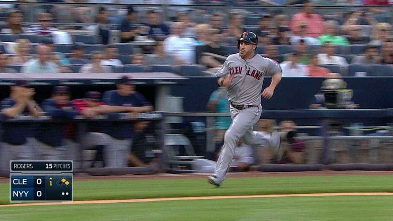 Shaky defense puts Tribe in hole vs. Yankees