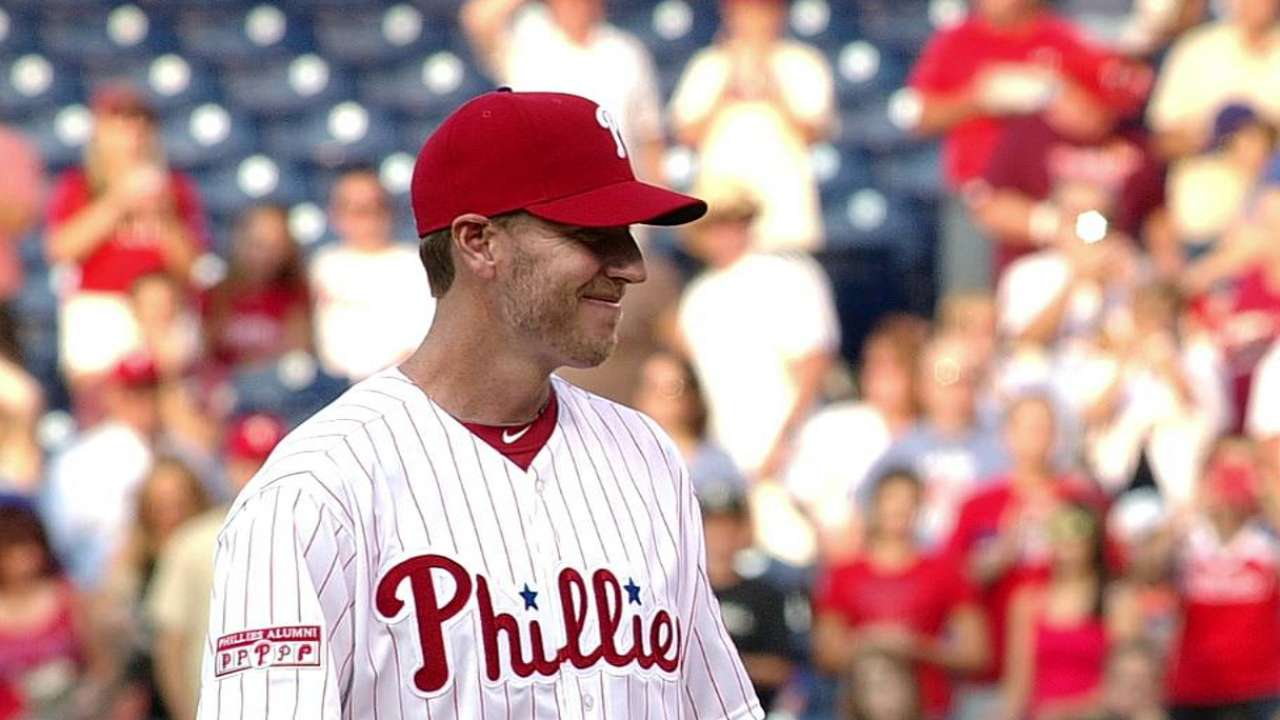 Former Phils ace Halladay named to Canadian Baseball HOF