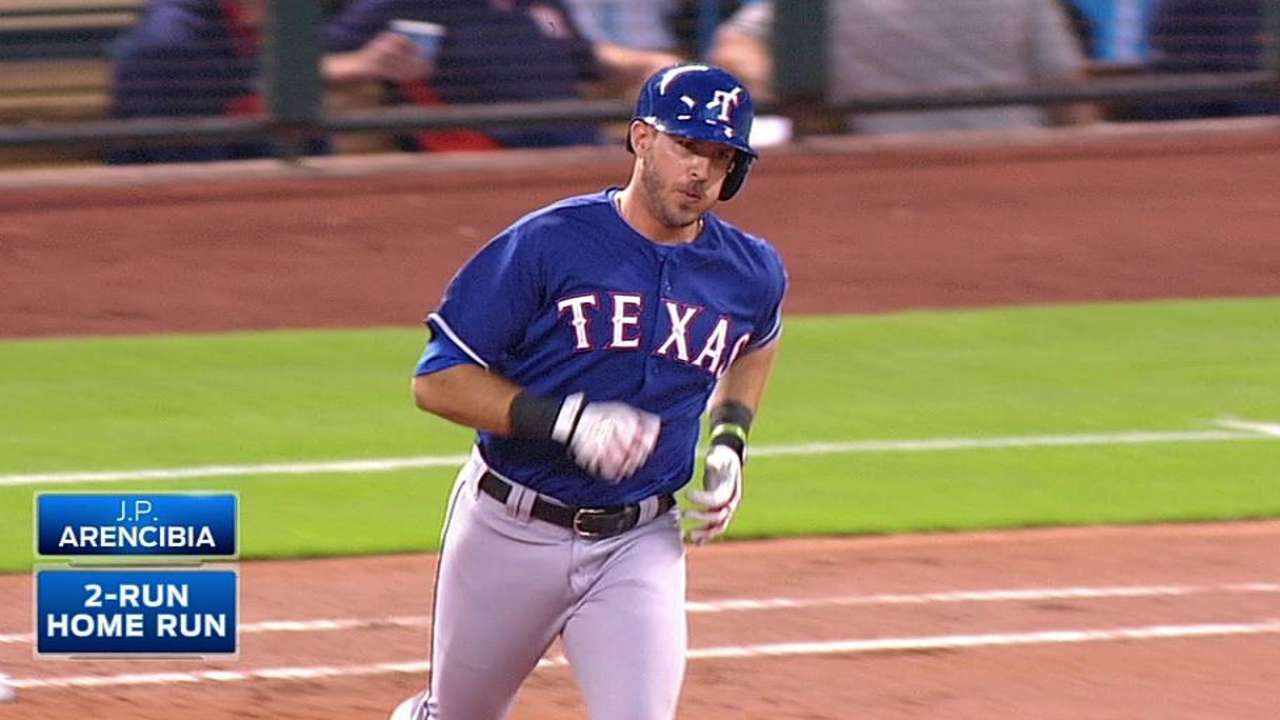 Rangers can't hold lead, fall to Astros