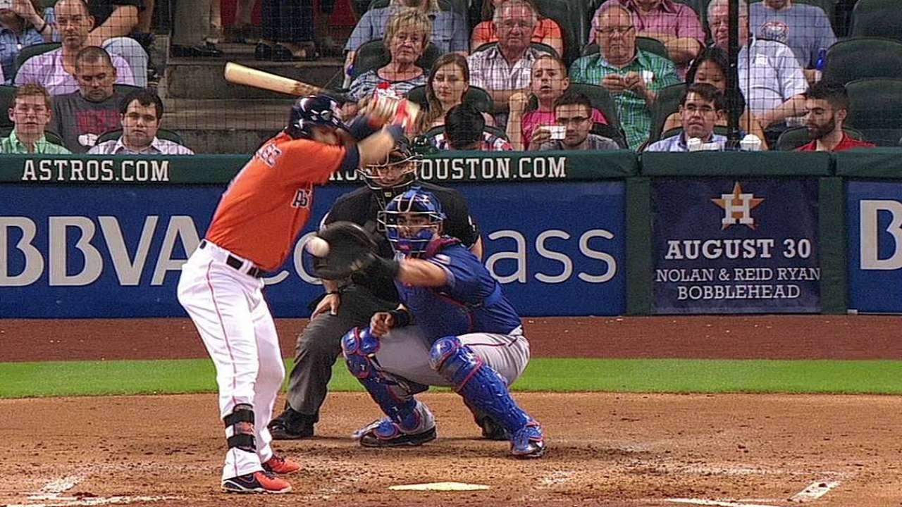 Rangers lose challenge, Astros win one
