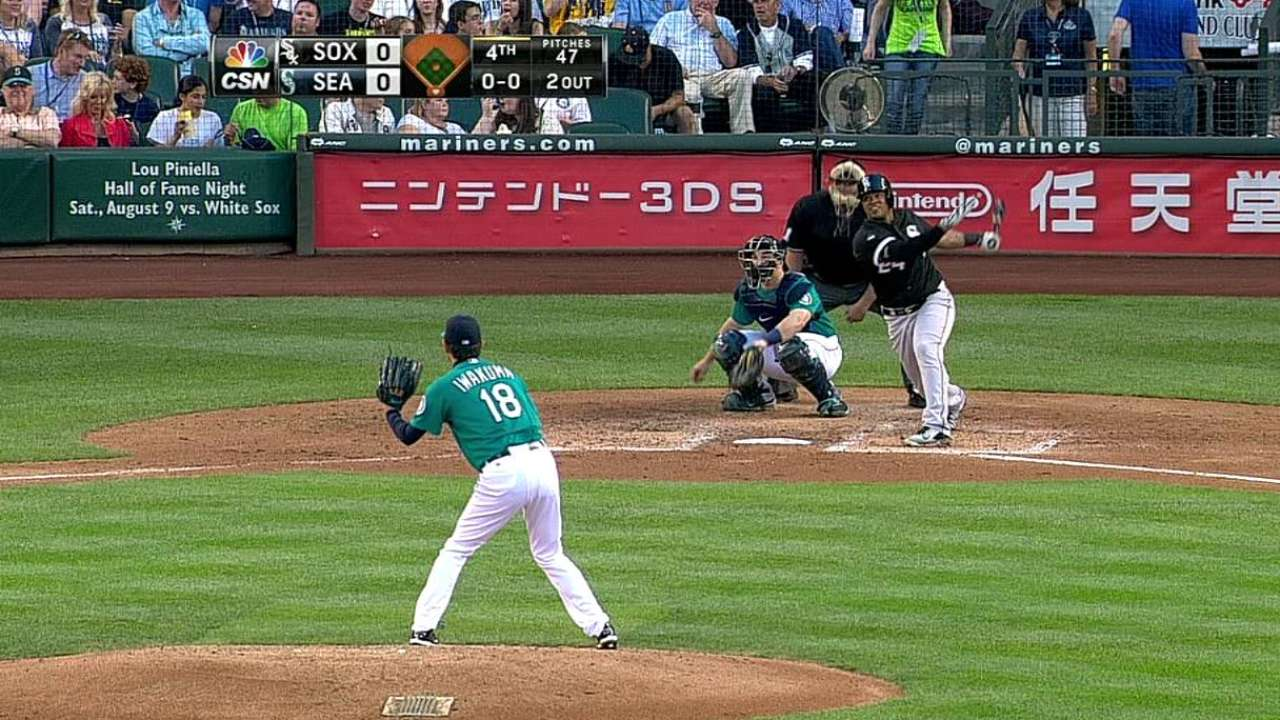 Viciedo Remolca 2 pero White Sox caen con Seattle
