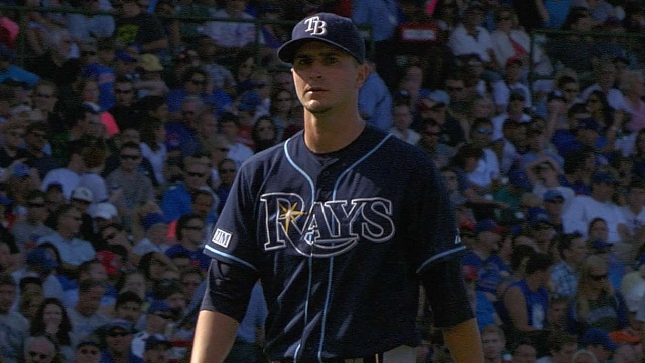 Rays' 15-K, no-walk performance one for the books