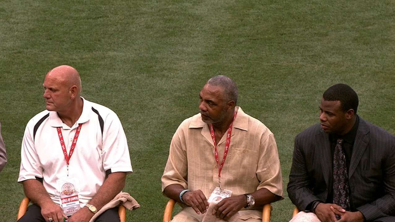 Trio with Cincy roots part of emotional Hall ceremony