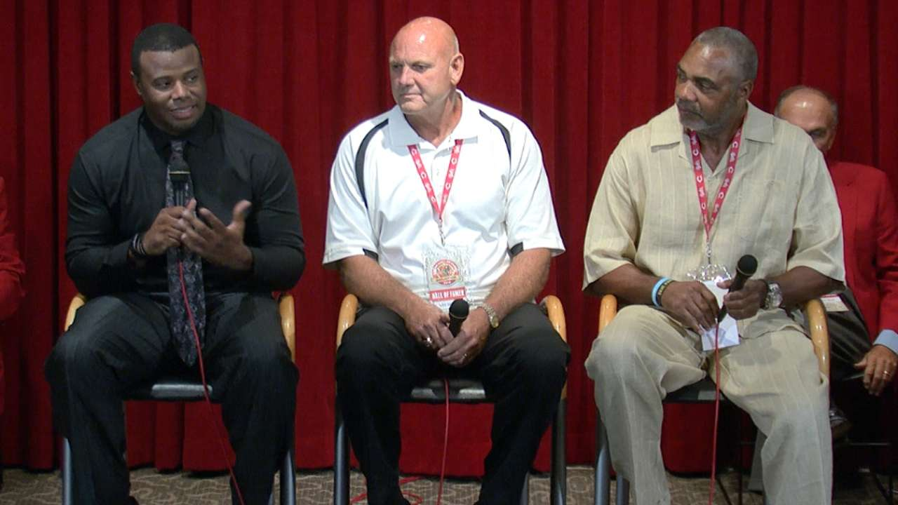 Reds Hall of Fame inductees