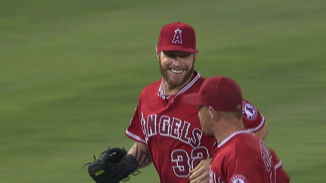 Angels: Support system not an issue for Hamilton