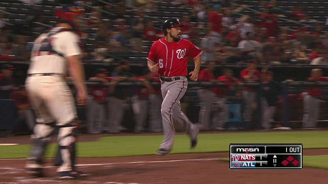 Nats weather the storm, outlast Braves in 11