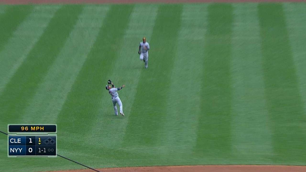 Ramirez opening eyes at shortstop