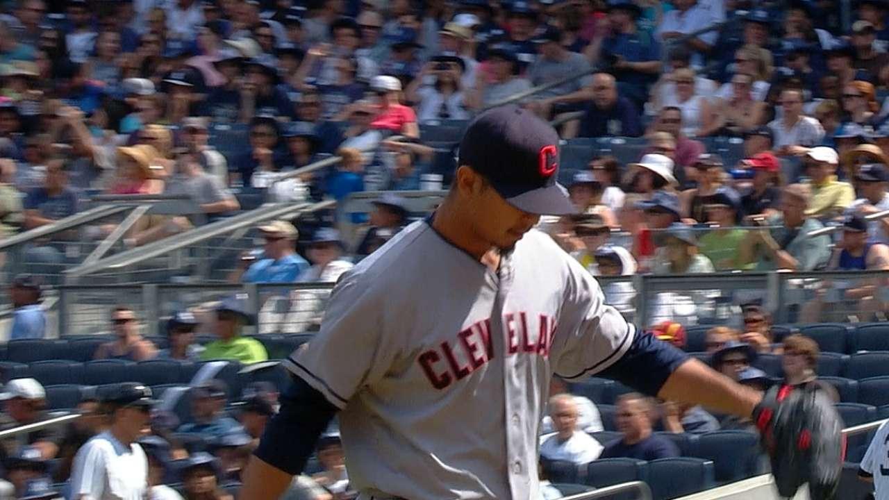 Yankees no tuvieron respuestas vs. pitcheo de Indios