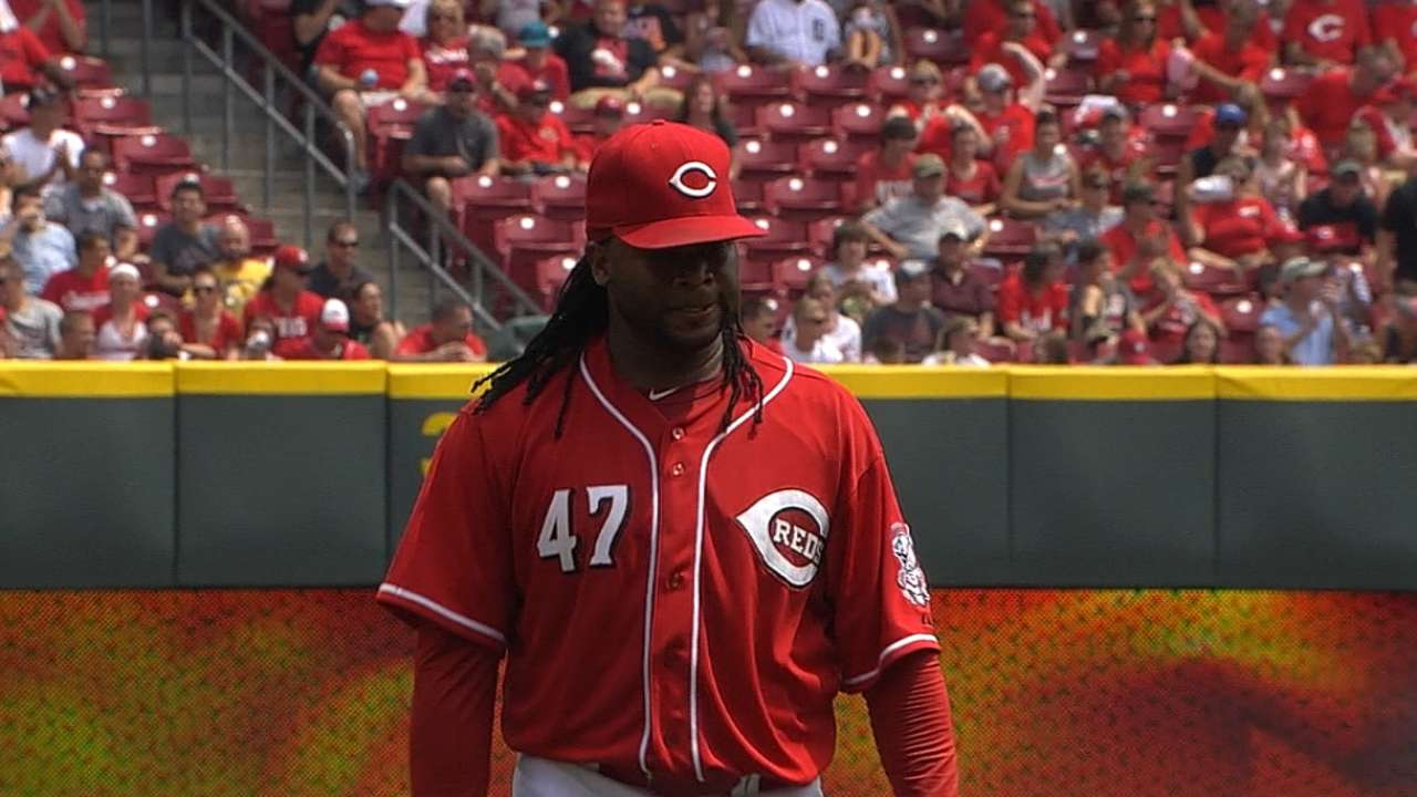 Cueto garners NL Player of Week honors