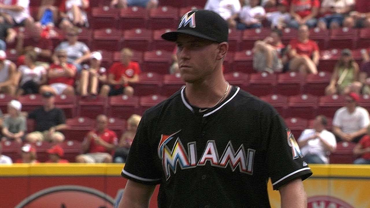 DeSclafani heads Marlins contingent in AFL