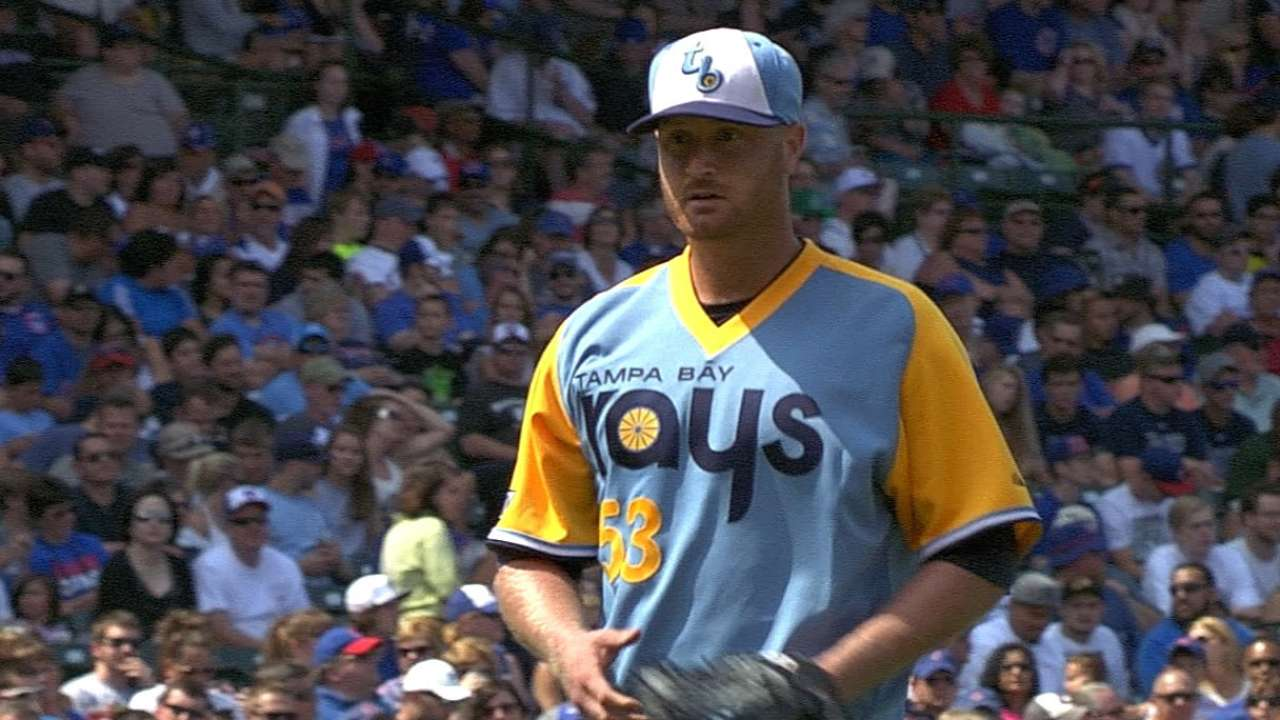 Arms turn in strong showing, but Rays fall in 12