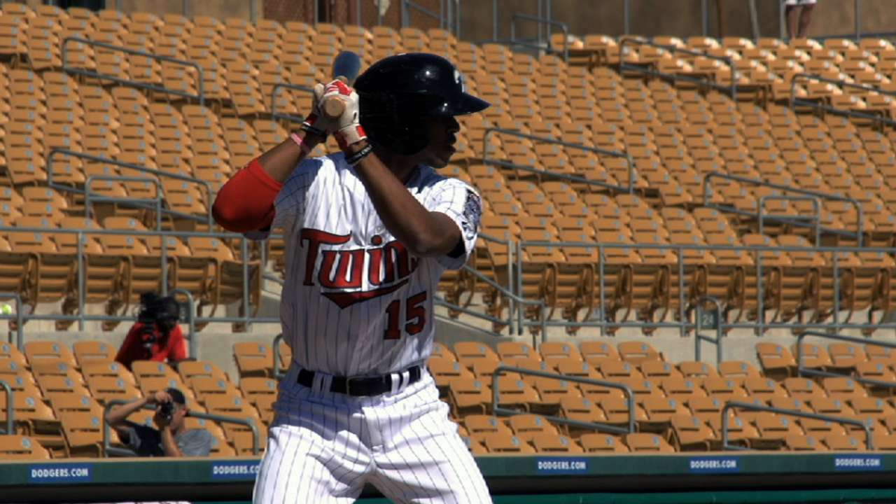Twin goals: Buxton, Sano striving to debut in '15