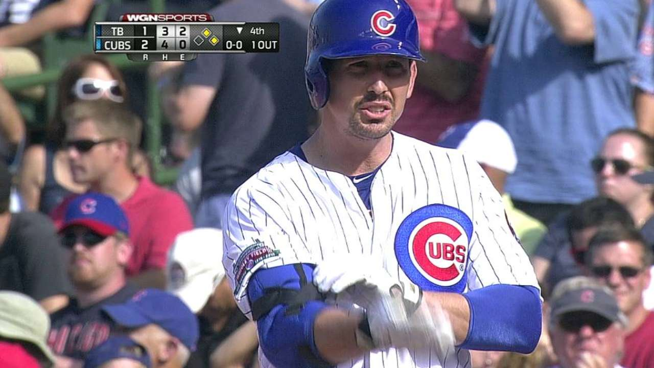 Cubs players react to managerial change