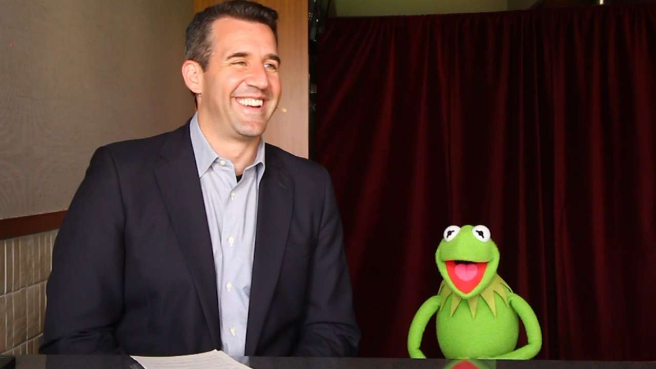 Kermit the Frog visits 'Express Written Consent'